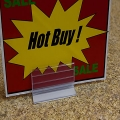 AGT Pinchers Sign Holder for Countertops