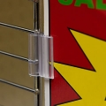 AGT Pinchers Wire Flag Sign Holder