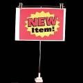 Premium Magnetic Tiltable Banner Holder - Center Bar